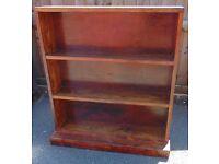 rustic pine farmhouse style bookshelf shelving unit real pine solid wood