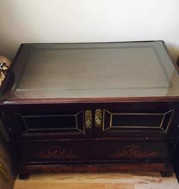 Chinese Hand Carved TV Unit