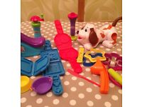 Playdoh set -puppy and fun factory