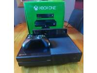 Xbox one console with kinect and controller and all leads,or bundle for £150(see photos)