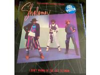 Shalamar Dead Giveaway 12 inch with free posters