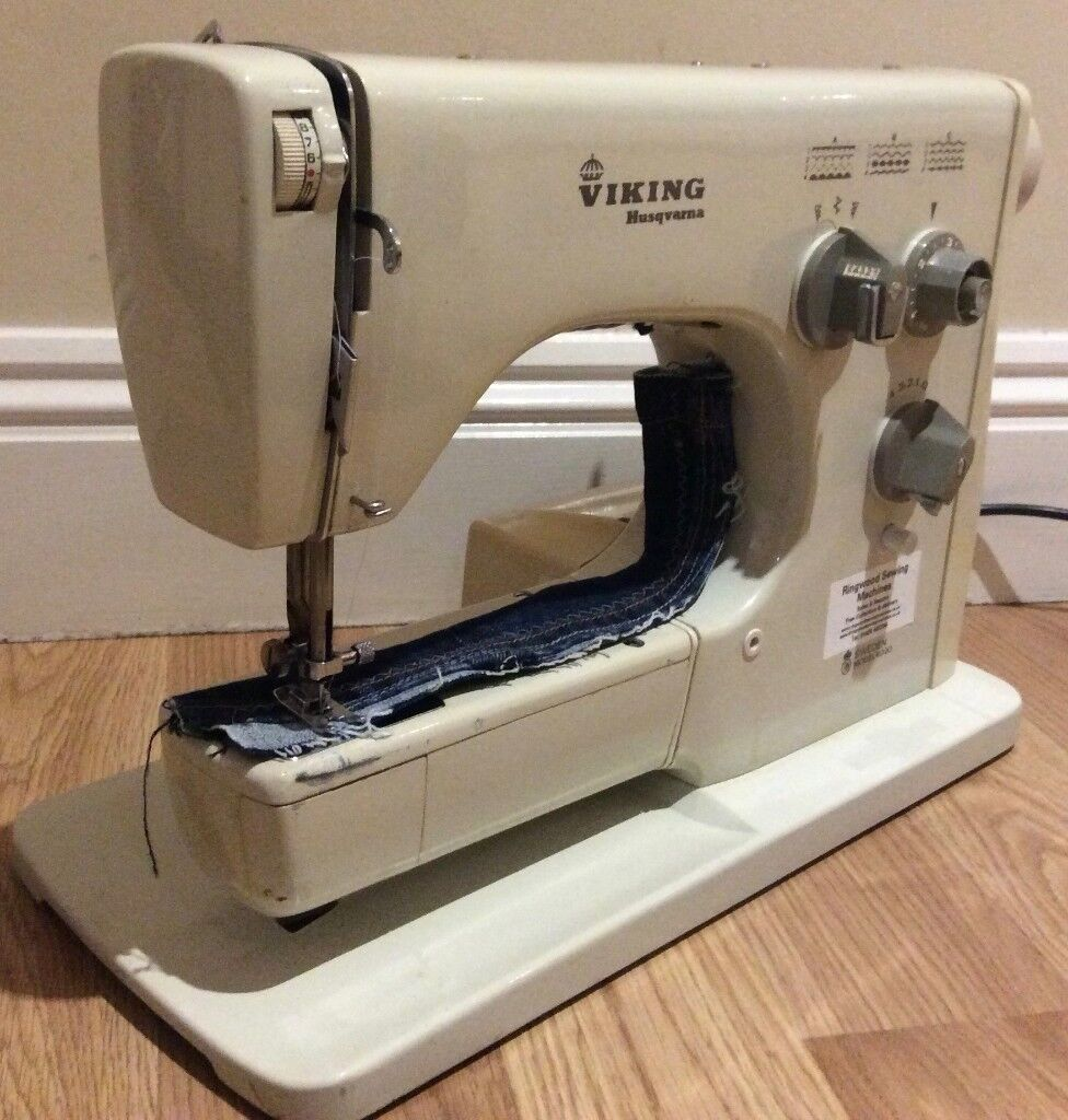 Husqvarna Viking 4020 Semi Industrial Sewing Machine Pre-Owned With  Warranty - UK Delivery Available