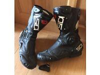 Sidi System ACS - Sports/Touring Motorbike Boots - Size UK 10/Euro 44