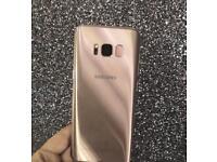 Samsung galaxy S8 Rose Gold 64GB
