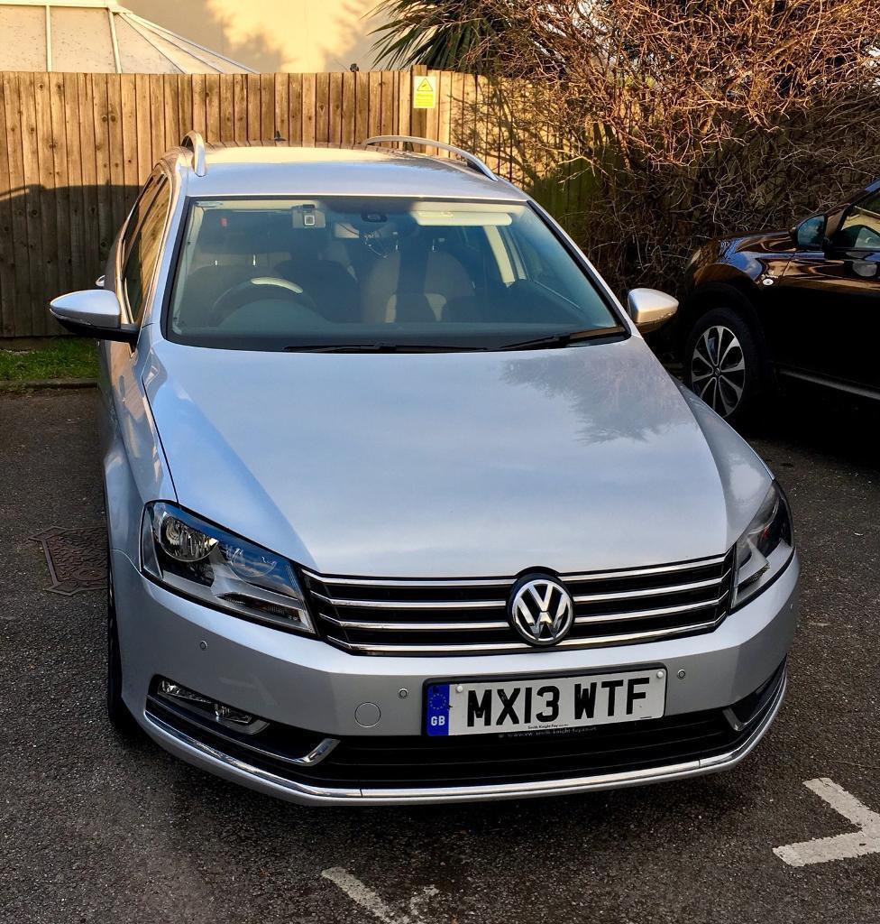 Volkswagen Diesel Cars For Sale: Vw Passat Estate 2.0 Diesel DSG Automatic In Reflex Silver