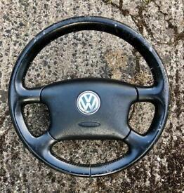VW Passat Bora Golf Mk4 steering wheel
