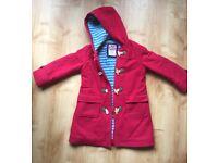 Boden red wollen girl's coat