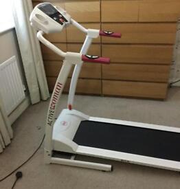 Active women electric treadmill running machine