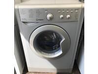 Silver Indesit 6KG washer dryer free delivery