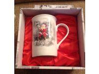 Set of 4 Leonardo Collection, Fine Bone China Boxed Father Christmas