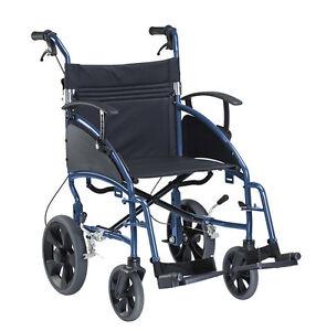 Reiserollstuhl PORTER Rollstuhl Transportrollstuhl Faltrollstuhl von Dietz