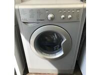 Silver Indesit 6KG washer dryer free delivery