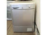 FREE DELIVERY Silver Indesit 7KG condenser tumble dryer WARRANTY
