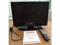 """Technika 19"""" HD Ready LCD 19-910 TV with built-in Freeview & USB"""