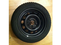 Winter tyres fully fitted to steel rims - For BMW 1 Series