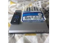 DVD player with Remote and Scart cable