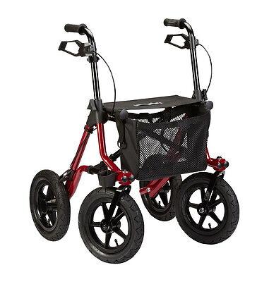 Rollator Taima XC mit großen Rädern und Luftbereifung -  8,2 kg leicht