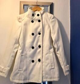 Guess - Ladies white coat
