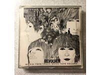 Beatles Revolver Reel To Reel Tape 3 3/4 I.P.S. Twin Track Mono Tape Record