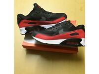 Brand New With Tags Men's Nike 90s Black/Red Size 10-11