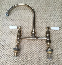 Baber & Wilson Gold Kitchen tap -Used