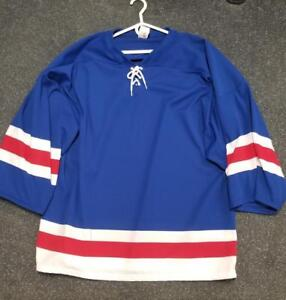 New York Rangers Goalie Cut Practice Jersey