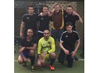 5-a-side Weds evening Kennington football team looking for regular players