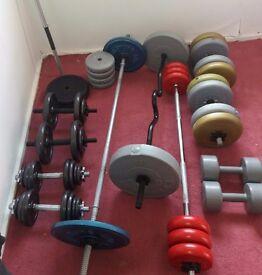 fitness equipment/ weights
