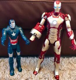 Deluxe Iron Man Figure with Iron Patriot