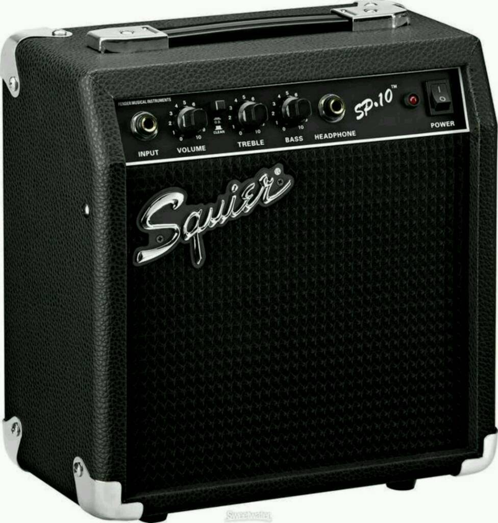 like new squier 10watt amplifier in chorley lancashire gumtree. Black Bedroom Furniture Sets. Home Design Ideas