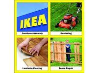 07425356916 Handyman IKEA Flat Pack Flatpack Assembly Fencing Fence Repair Flooring Gardening