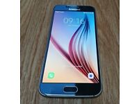 Samsung S6, 32Gb unlocked mobile + case / protector - good condition, professionally CHECKED