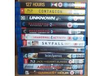 DVD's over 140 Films on DVD (includes a few ex rental Blu Ray)
