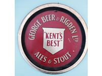 Old Vintage Brewery & Shop Advertising Items Wanted