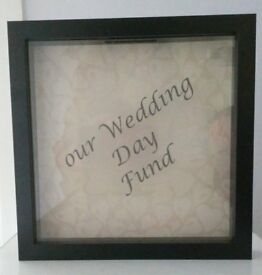 Our Wedding Day Fund money box