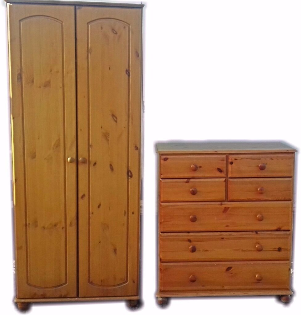010 Solid Kids Pine WardrobeChest of Drawersin DundeeGumtree - For Sale Solid Kids Pine Wardrobe Chest of Drawers Some marks of Use See pictures DeliVery Free in Dundee