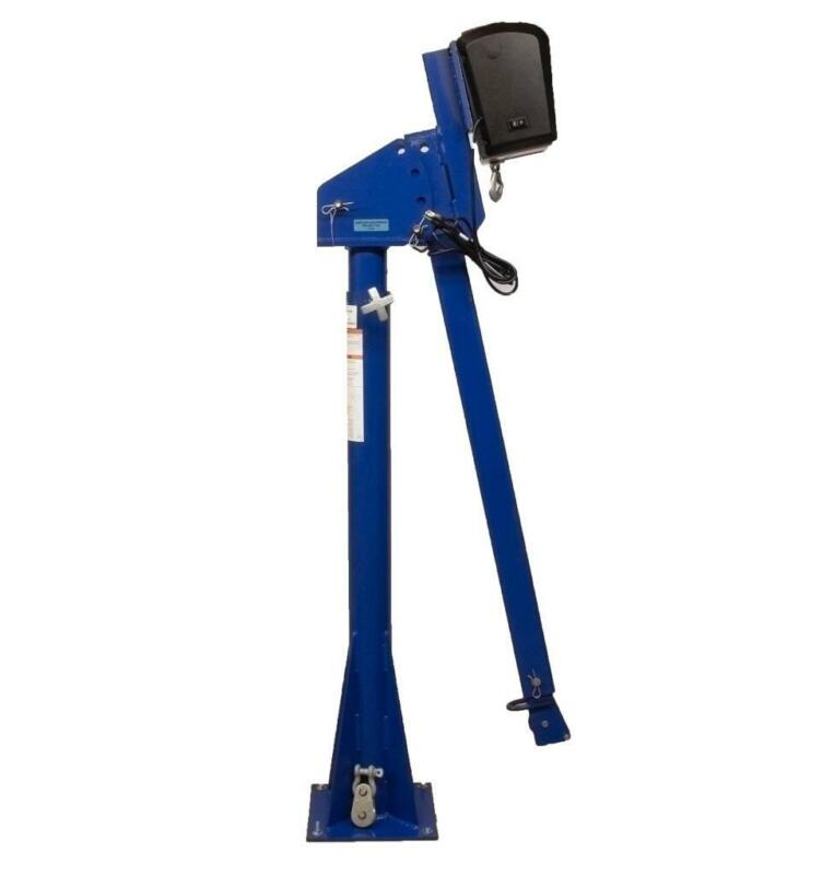 Vestil WTJ-20-4-AC Power Lift Jib Crane w/ Strongarm Winch 2000# Cap. New (7310)