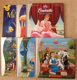 Brand new Disney princess books x6