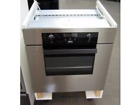 Zanussi ZBQ365X Integrated Built In Single Oven, Fan Assisted, 6 Month Cover