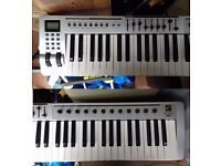 Evolution MK-461C 61-Note USB MIDI Keyboard by M-Audio