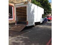 Big Luton van for rent Edinburgh/emergency house removals edinburgh/office moves