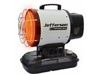 Jefferson Infrared 70 Space Heater with Thermostat Diesel/Kerosene/Paraffin