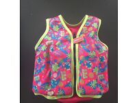 Swim float vest 2-3yrs - hardly used, excellent condition
