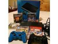 Play Station 3 500GB console and games bundle. Boxed excellent condition.