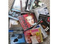 CD Albums - 75p each.