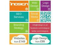 Web & Graphic Design Services | From £149