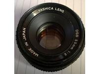 yashica 55mm lens