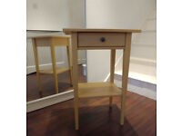 IKEA HEMNES BEDSIDE TABLE YELLOW