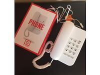 White Telephone New