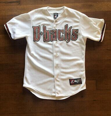 Arizona Diamondbacks Jersey Authentic Mens Small Majestic White